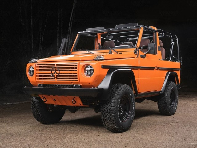 Mercedes 250GD Wolf by Expedition Motor Company