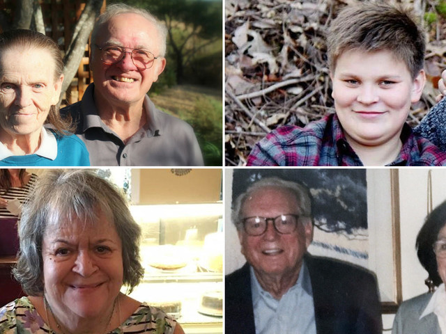 These are some of the victims of the Northern California firestorm