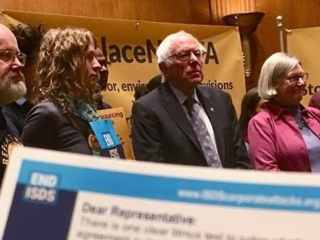 Bernie Sanders Pushes Donald Trump To Stay Strong In NAFTA Negotiations