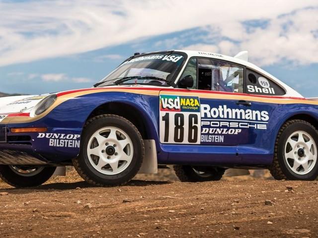 Dakar Rally-raced Porsche 959 heads to auction