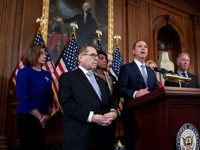 House Democrats Unveil Two Articles Of Impeachment Against Donald Trump