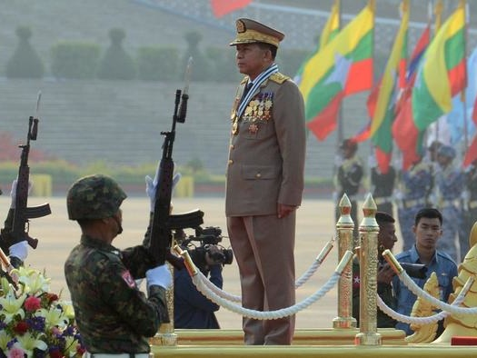 Biden Imposes Sanctions On Myanmar Coup Leaders As Protest Crackdown Violence Grows