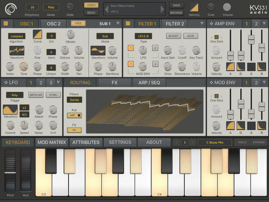 SynthMaster One is here, and it's pretty close to the desktop