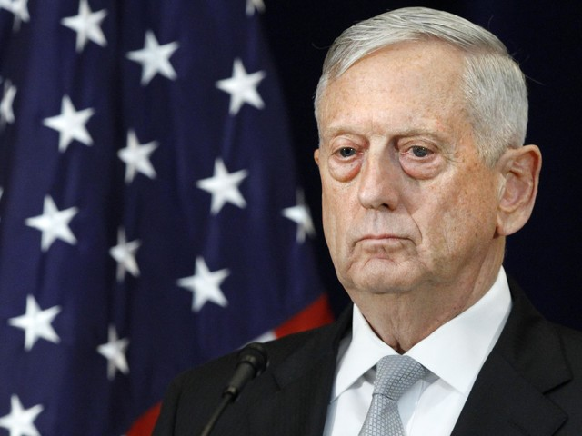 "James Mattis, defense secretary, ""comfortable"" with White House's way ahead on Afghanistan"