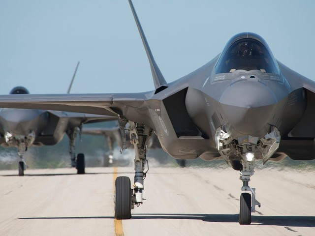 The Pentagon and Lockheed Martin seal $34 billion deal for the delivery of 478 more F-35 stealth fighters