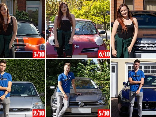 Daters looking for love rate potential matches as MORE attractive when snapped with flashy car