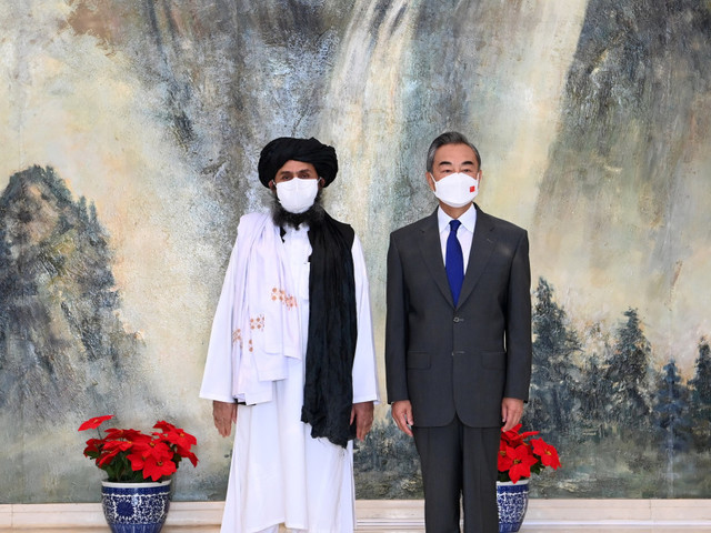 China embraces the Taliban ... very carefully