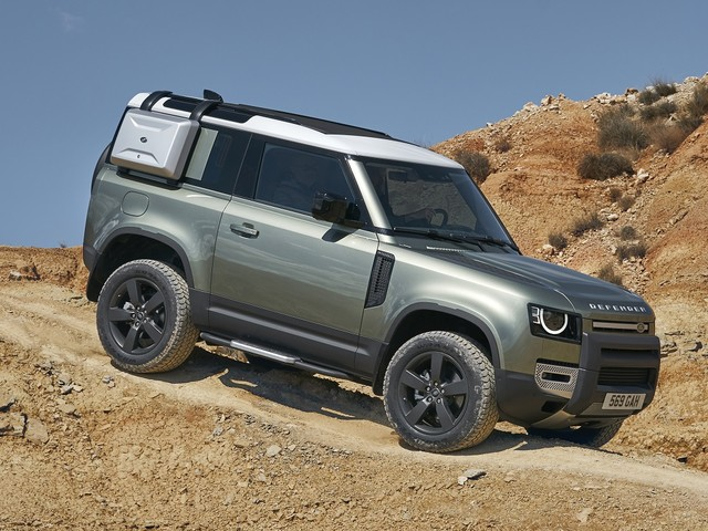 Land Rover Defender Bristles With Technology
