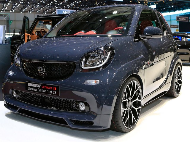 Brabus Ultimate E Shadow Edition Is One Expensive Smart Car