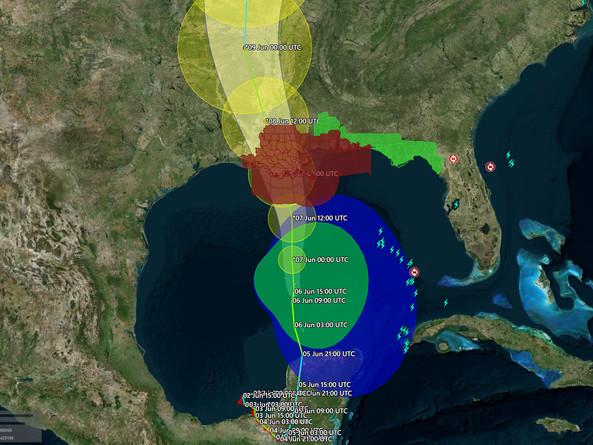 Gulf Coast Braces For Tropical Storm Cristobal To Strike On Sunday