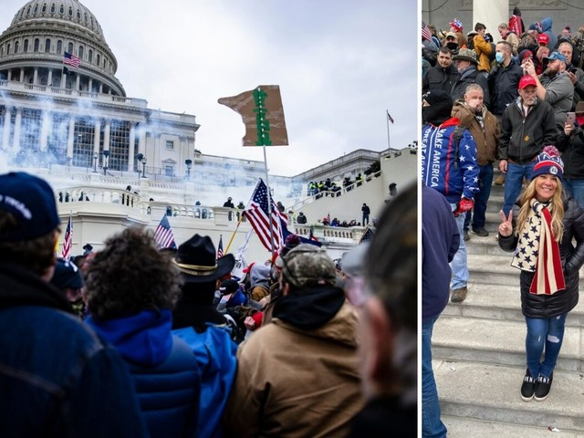 Realtor arrested for role in Capitol riot is second agent to be charged