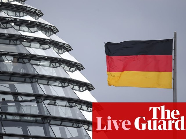 German economy stagnates as eurozone growth hits seven-year low - business live