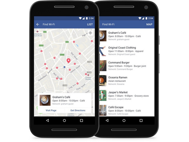 Facebook rolls out 'Find WiFi' feature to iOS, Android