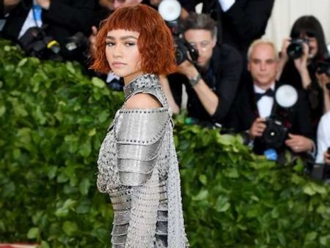 Zendaya Materializes Girl Power With Homage to Joan of Arc at Met Gala