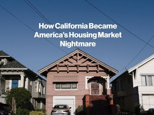 California's Housing Nightmare Is Only Getting Worse