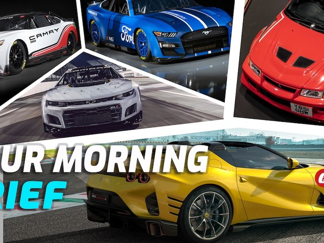 NASCAR Gets Radical, Ferrari 812 Competizione, $140k Mitsubishi Evo, Porsche-Penske Back In Bed: Your Morning Brief