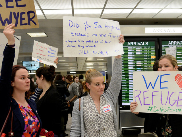 Dulles Officials Continue To Defy Court Order Halting Part Of Immigration Ban