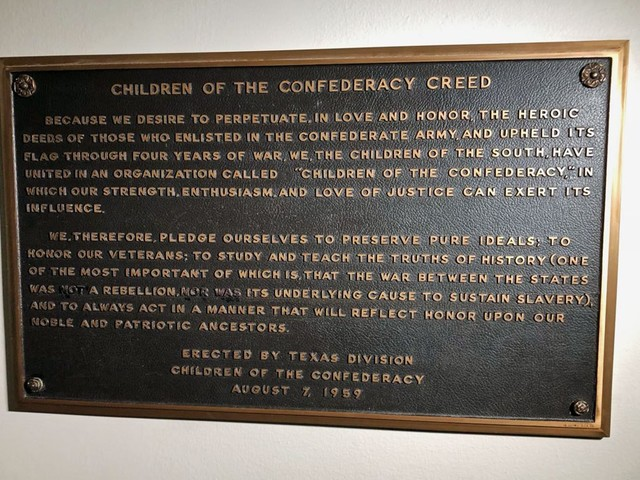 Preservation Board Votes To Remove Confederate Plaque At State Capitol