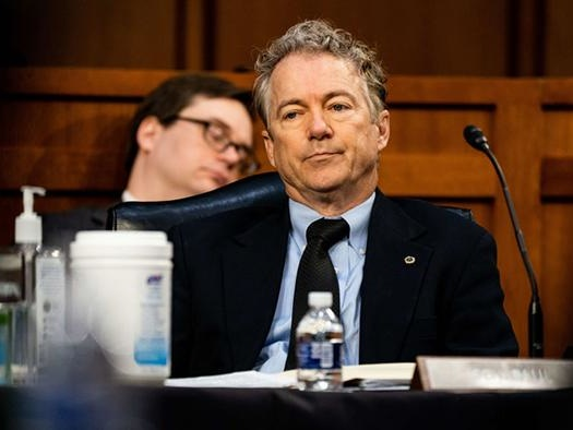 """Rand Paul """"Pages"""" Fauci With CDC Confirmation That Vaccinated And Recovered Cannot Pass On COVID"""