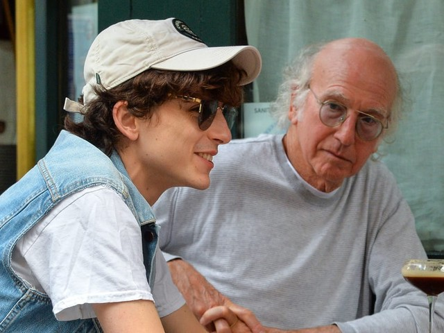There's Just So Much to Unpack About Timothée Chalamet's Lunch Date With Larry David