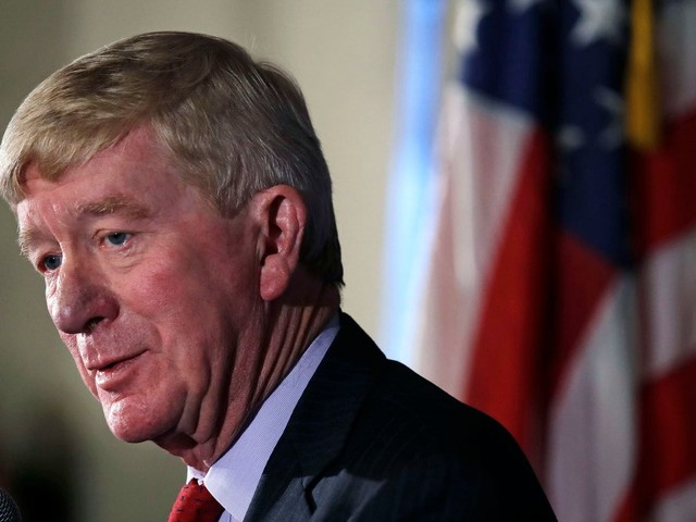 Former Massachusetts governor Bill Weld announces plan to challenge President Trump for Republican nomination