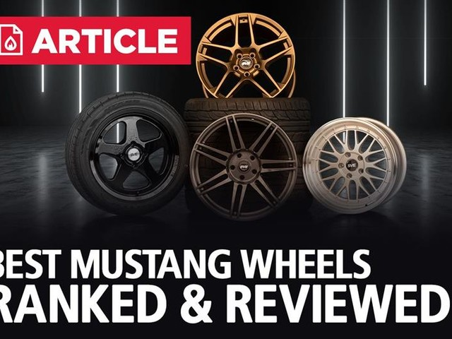 Best Mustang Wheels | Ranked & Reviewed