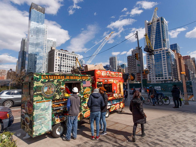 Skip The Vessel and eat at Hudson Yards food trucks instead
