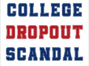 "Author discusses his book on ""the college dropout scandal"""