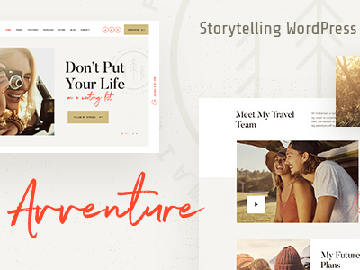 Avventure | Personal Travel & Lifestyle Blog WordPress Theme (Travel)