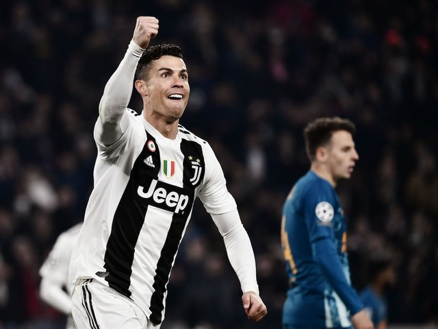 Juventus' shares are soaring after Cristiano Ronaldo's hat-trick took the team into the final 8 of the Champions League
