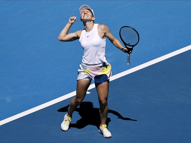 2-time major winners Simona Halep, Garbiñe Muguruza to meet in Aussie Open semi