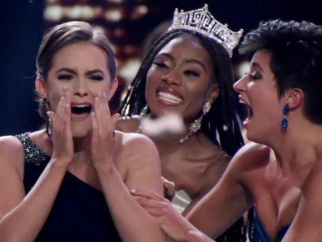 Photos show the emotional moment Miss Virginia Camille Schrier was crowned the winner of Miss America 2020
