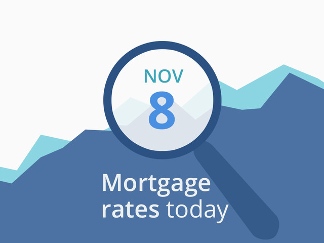 Mortgage rates today, November 8, 2019, plus lock recommendations