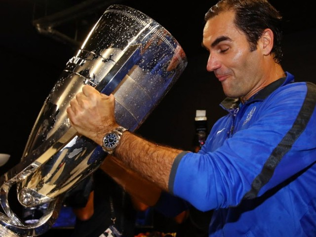 Roger Federer clinches first Laver Cup for Europe with singles win