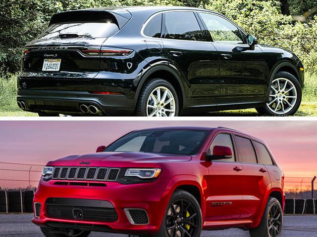 Porsche Vs. Jeep: The $100,000 Performance SUV Showdown