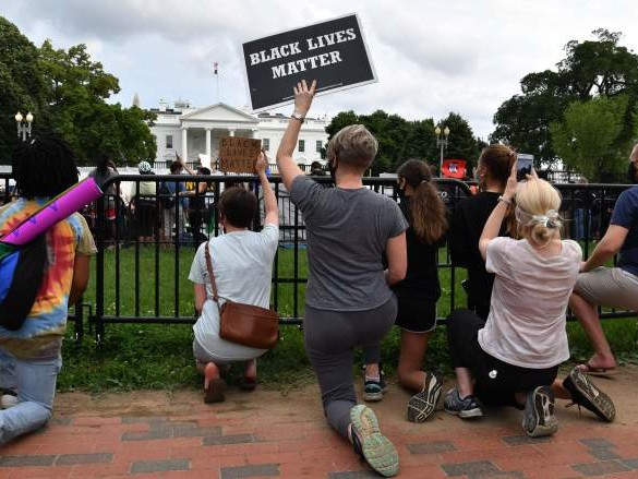 WATCH: White House on Lock Down Amid Violent Protest in Washington D.C.