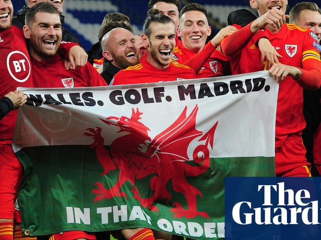 Gareth Bale and that 'Wales, golf, Madrid' flag: Real are not amused