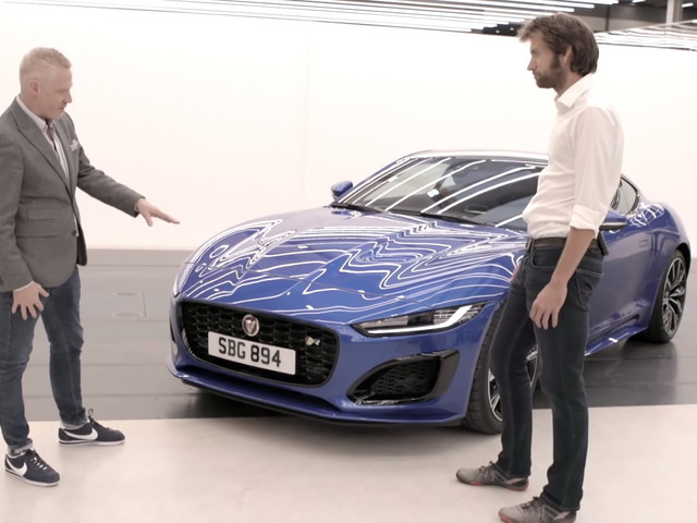 Jaguar's Design Boss Takes Us For A Tour Around The 2021 F-Type
