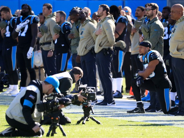 After Kyle Allen has 4 picks, Eric Reid makes plea for Panthers to sign Colin Kaepernick