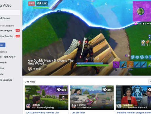 Facebook launches Fb.gg gaming video hub to compete with Twitch