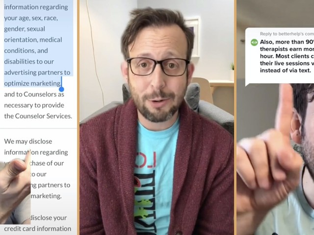 'We don't think this is a healthy therapeutic relationship': Therapist exposes BetterHelp's problems in viral TikTok