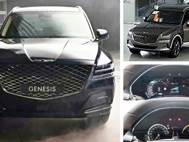 2020 Genesis GV80 Luxury SUV Just Can't Stop Posing Undisguised