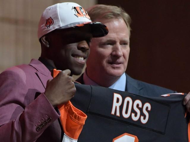 Cincinnati Bengals coach Marvin Lewis: Rookie WR John Ross concealed injury