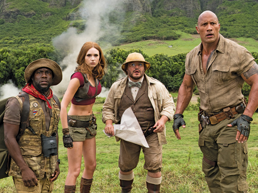 'Jumanji: Welcome to the Jungle' Tops Studios' TV Ad Spending