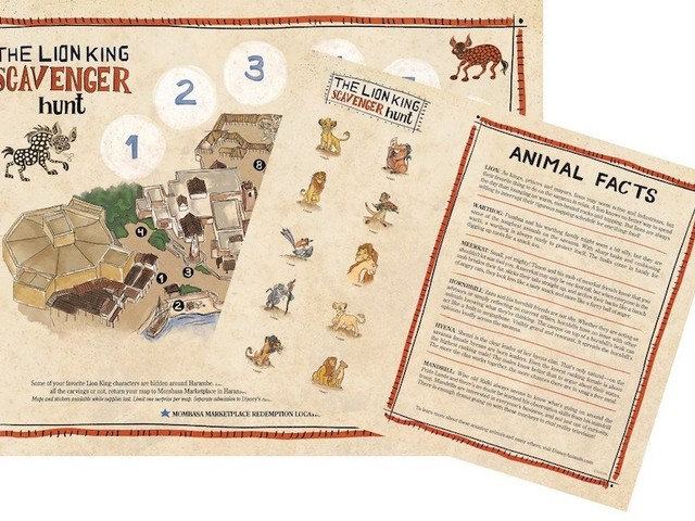 A Look at the New Lion King Merchandise and Scavenger Hunt at Disney's Animal Kingdom