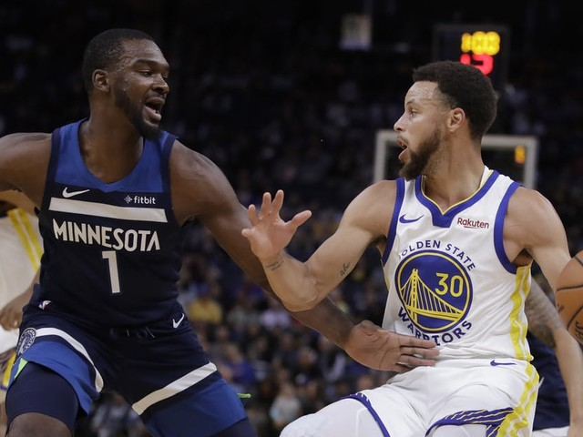 Timberwolves can't stop Stephen Curry's 40 points in preseason loss to Warriors