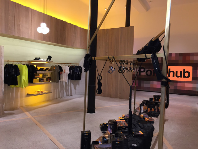 Pornhub Opens Luxury Store For Limited Run In SoHo