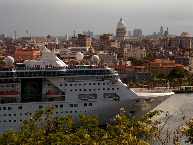 Royal Caribbean cruise ship cancels Puerto Rico stop amid violent protests
