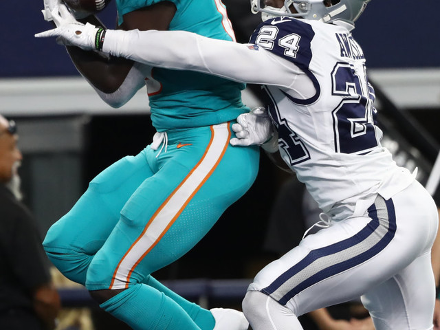 Why didn't Miami challenge a bad TD call?