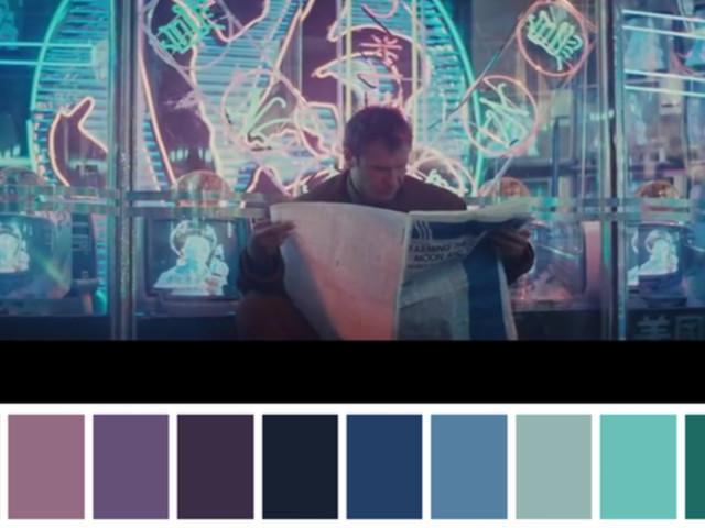 The Color Palettes of Your Favorite Films: The Royal Tenenbaums, Reservoir Dogs, A Clockwork Orange, Blade Runner & More
